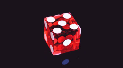 red dice to learn how to play craps