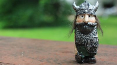 action figure from a viking board game